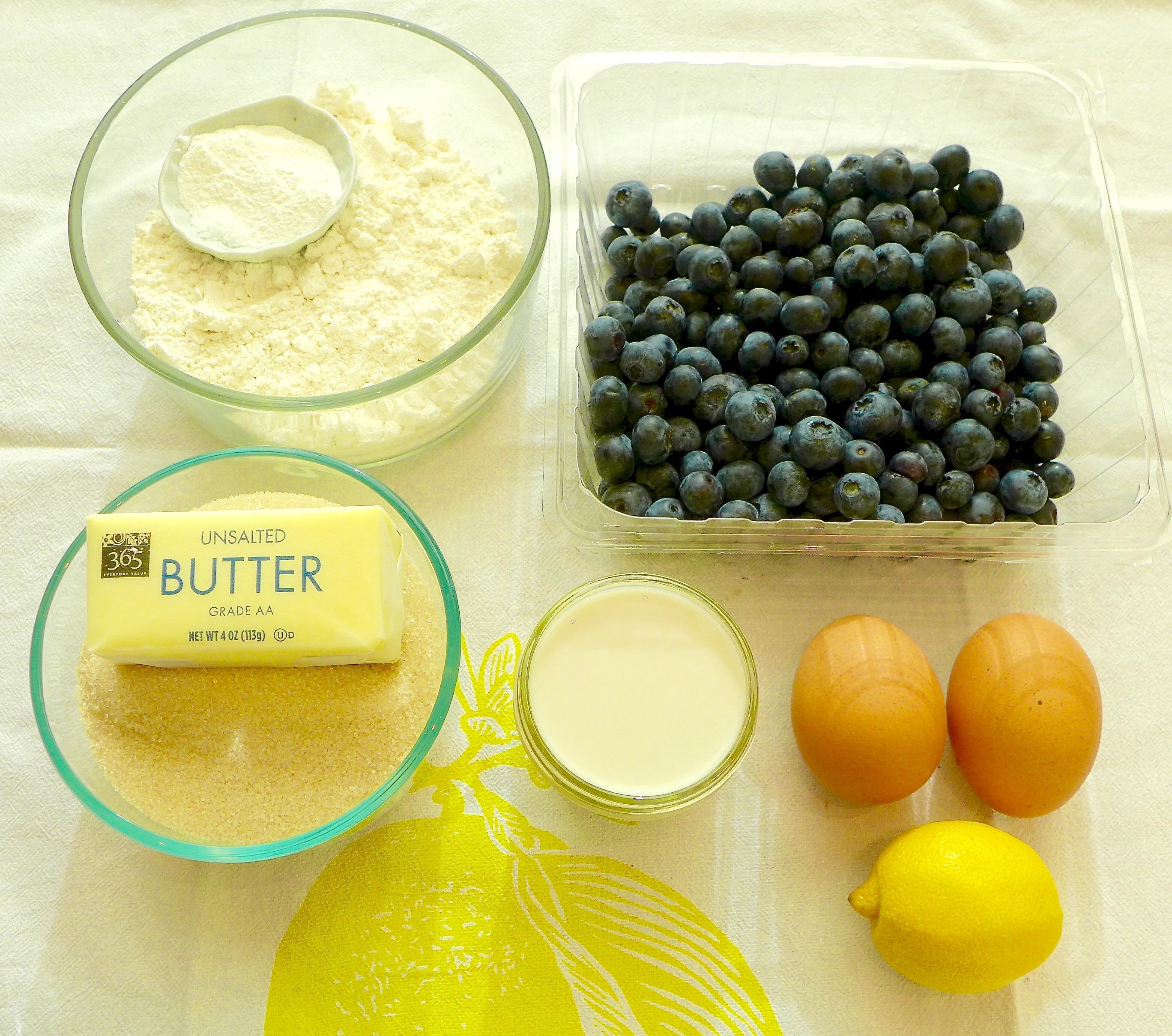 Blueberry Muffin Essentials
