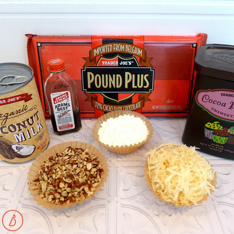 All you need to make decadent, homemade truffles. Coatings optional.