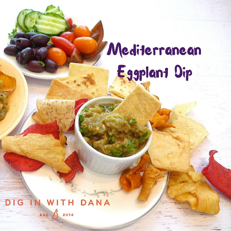 Mediterranean Eggplant Dip 2