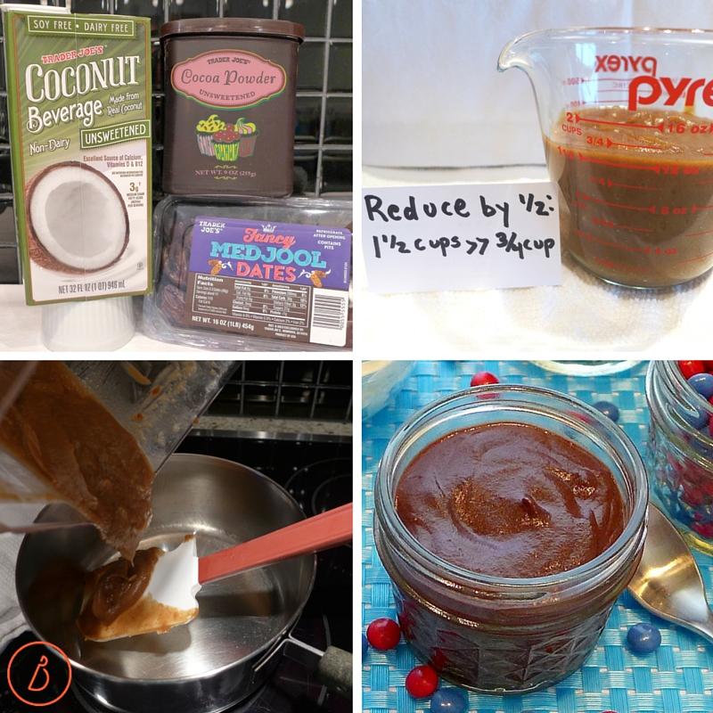Date based fudge sauce. Can be dairy, sugar and gluten free. Banana Ice Cream Sundae recipe at diginwithdana.com