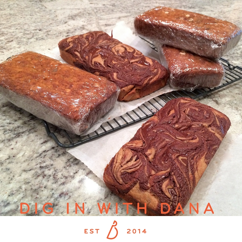 pumpkin chocolate ribbon bread at diginwithdana.com