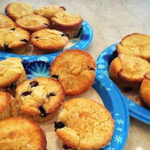 Lemony Blueberry Cupcakes