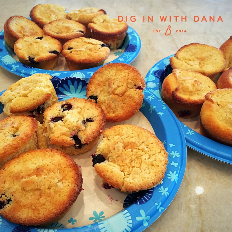 Dig in to Lemon Blueberry cupcakes! recipe and ideas at diginwithdana.com