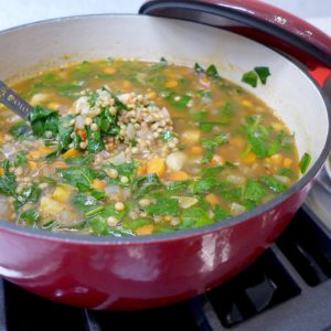 Quick Greek Lentil Soup