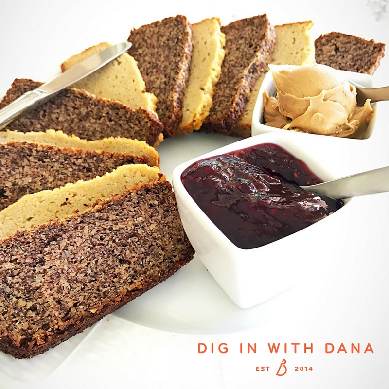 Alond Flour and Honey Sandwich Bread (gluten- free!)recipe and helpful, easy tips at diginwithdana.com