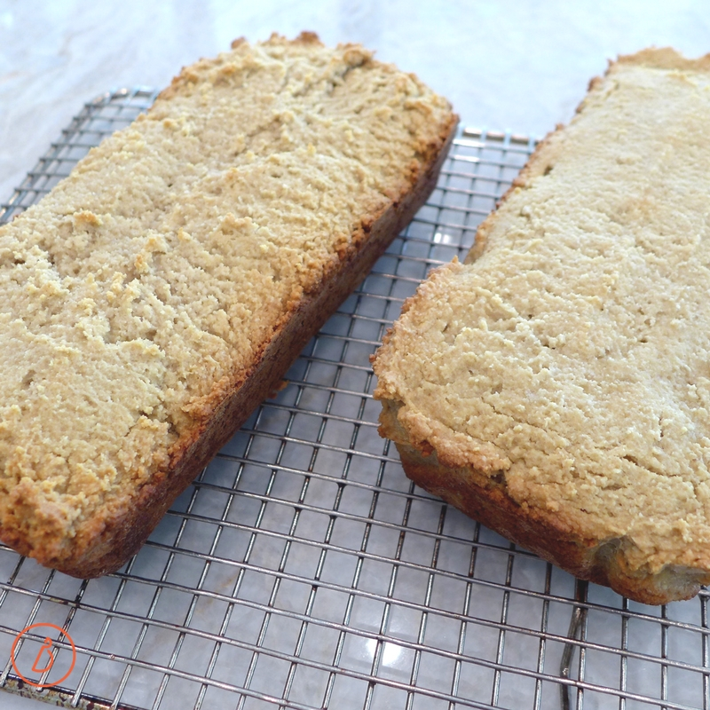For a smooth, even top, wet plastic spatula and gently smooth top and corners before baking. Almond Flour and Honey Sandwich Bread recipe and helpful tips at diginwithdana.com