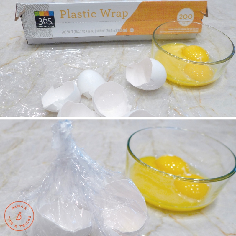 For easy clean up, break eggs over a piece of plastic wrap, then fold up yolks and throw away. Almond Flour and Honey Sandwich Bread recipe at diginwithdana.com
