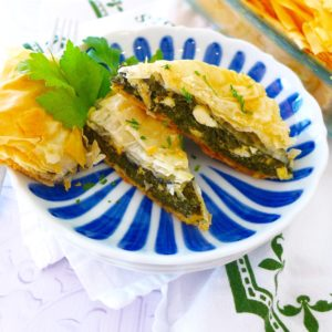 Easy Spanakopita (Greek Spinach Pie)