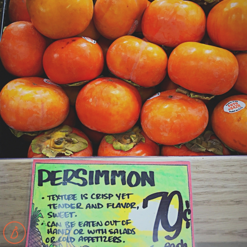 Find Fuyu persimmons at the grocery in late fall and try this easy cranberry persimmon cake recipe at diginwithdana.com