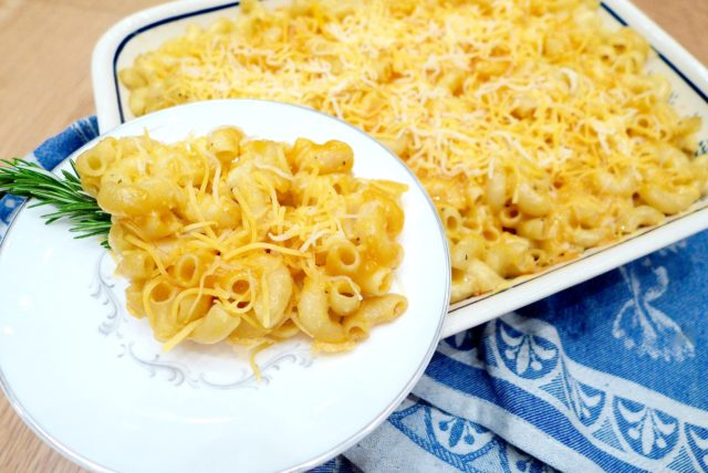 Cheesy Baked Mac 'N Cheese