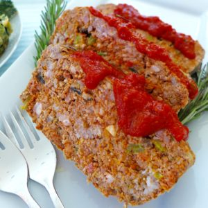 Simple Paleo Meatloaf
