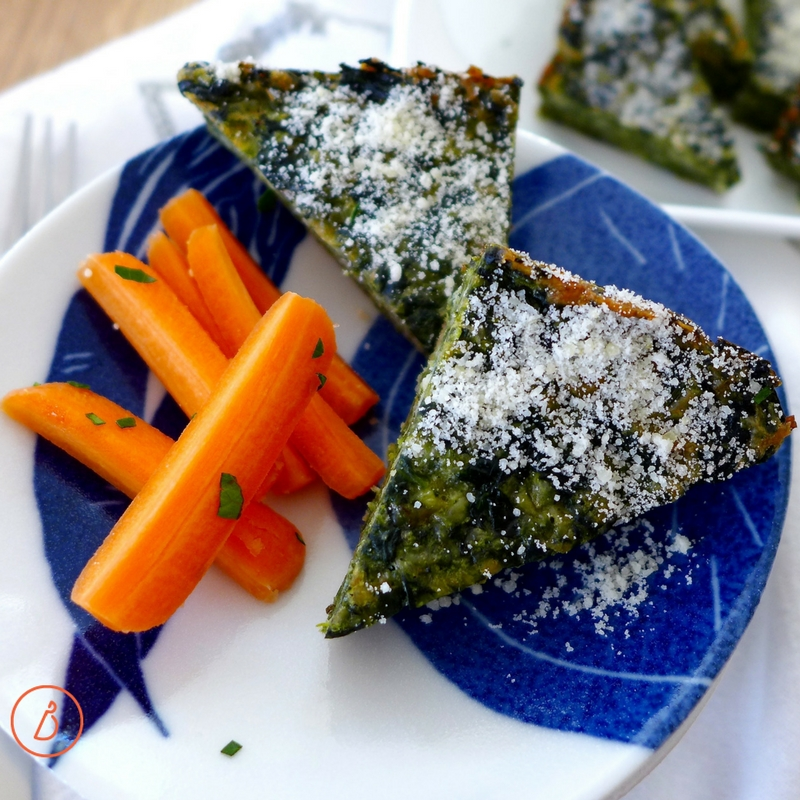 So many variations and options for this delicious, gluten free Low Carb Spinach Parmesan Pie. Recipe at diginwithdana.com